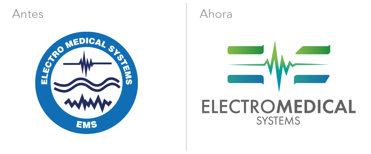 Rediseño de marca Electromedical Systems